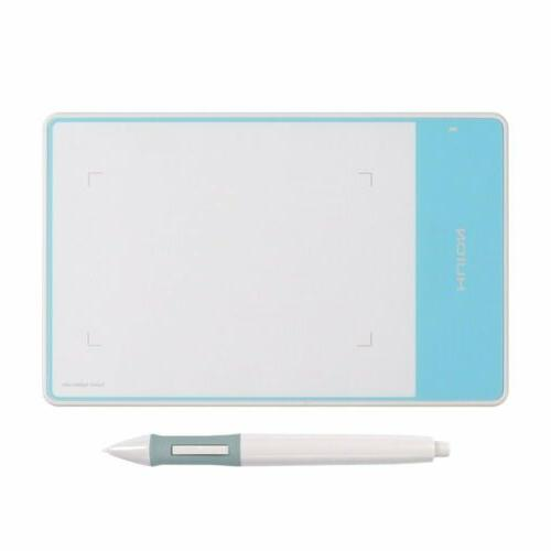 """Huion 420 Graphics Drawing Tablet USB 4"""" x 2.23"""" Signature P"""