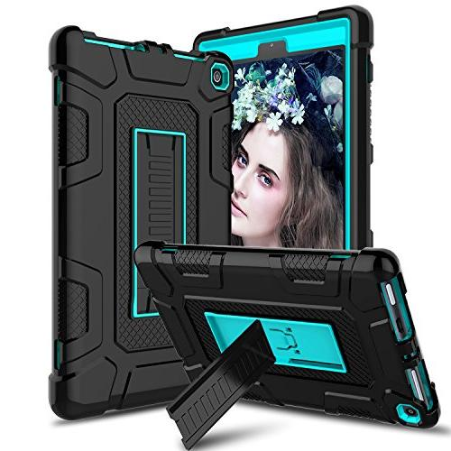venoro case all new amazon fire tablet shockproof armor defe