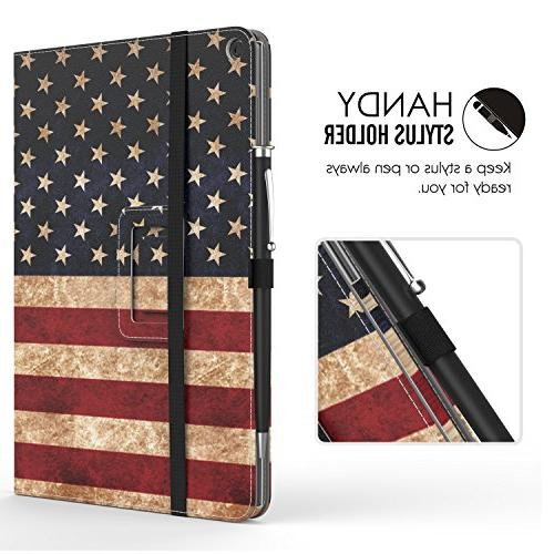 Verizon ASUS Case, Slim Folding Built-in ASUS Verizon 2016, Flag