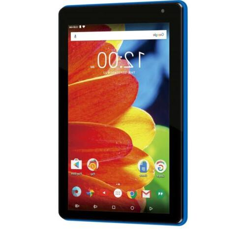 """RCA Voyager 7"""" Tablet Android Blue"""