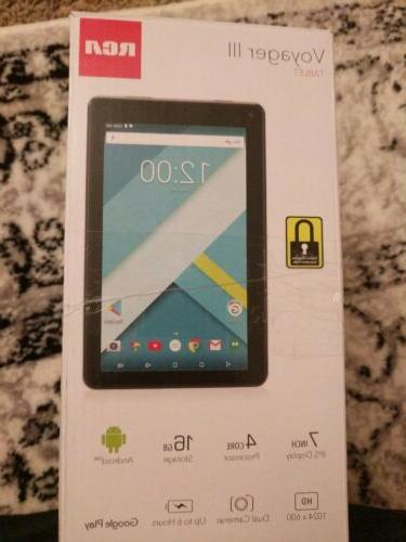 voyager iii 3 7 16gb tablet android