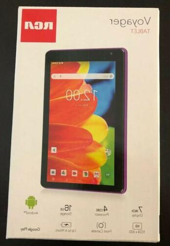voyager pro 7 16gb tablet android purple