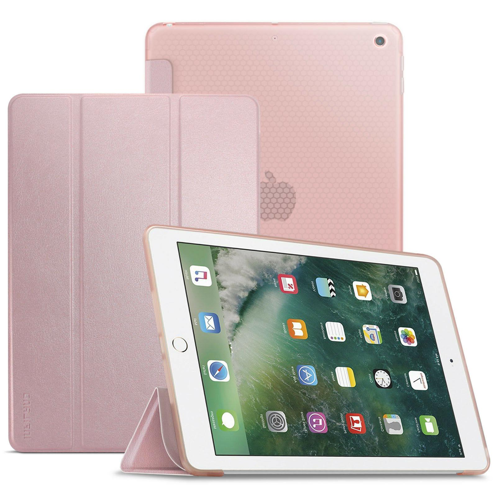 Wake/Sleep Tablet Case Soft TPU Back Cover For iPad 6th Gen