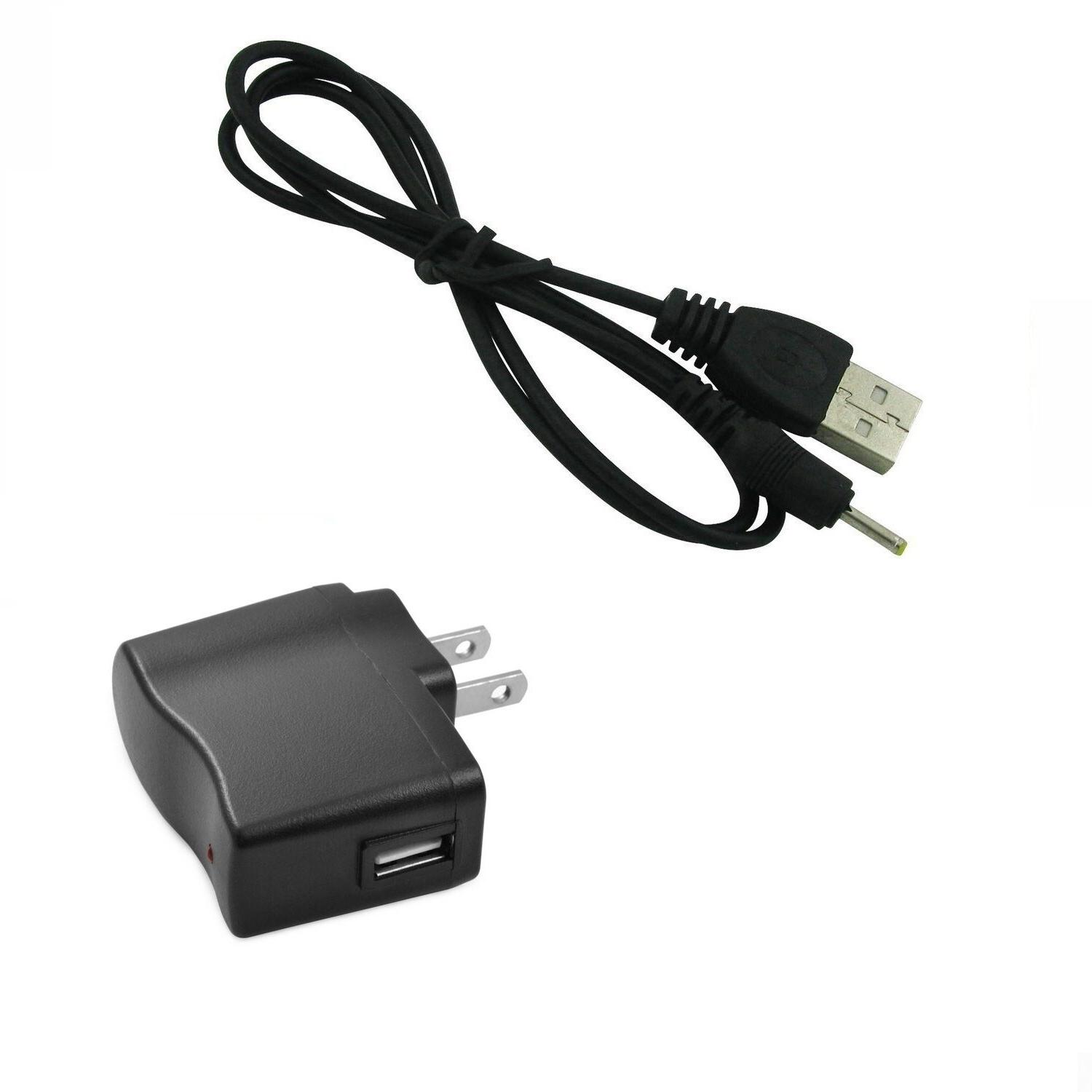 Wall Power Charger+ Cable ADAPTER for Kids Tablet Nabi 2 II