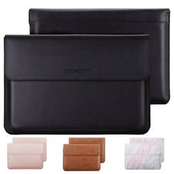 MoKo Laptop Sleeve Bag Leather Protective Tablet Case for iP