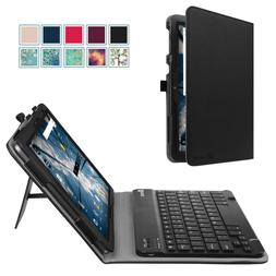 """Leather Case Cover For AT&T Primetime 10""""4G LTE 2017 Tablet+"""