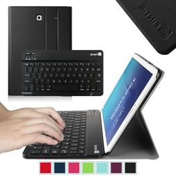 PU Leather Case Cover with Bluetooth keyboard for Samsung Ga