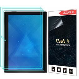 J&D Compatible for 3-Pack Lenovo Tab 4 10-inch Android Table