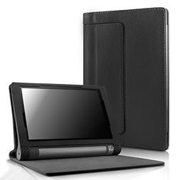 Lenovo Yoga Tab 3 8 Case - Infiland Folio Premium Leather Sm