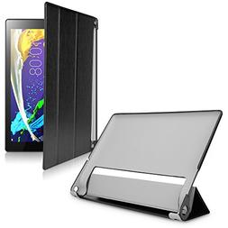 BoxWave Lenovo Yoga Tablet 2 10.1 Case,  Leather Smart Folio