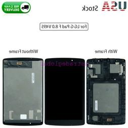 For LG G Pad F 8.0 V495 Replacement LCD Display + Touch Scre