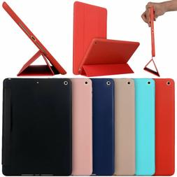 Magnetic Soft Silicone Folio Stand Tablet Case Cover For App