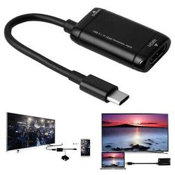 Micro USB-C MHL Type C to HDMI HDTV Cable Adapter for Androi