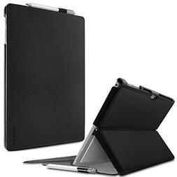 Infiland Microsoft Surface Pro 4 Case, Slim Shell Stand Cove
