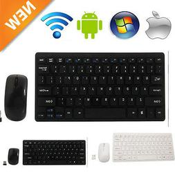 Mini 2.4G DPI Wireless Keyboard and Optical Mouse Combo for