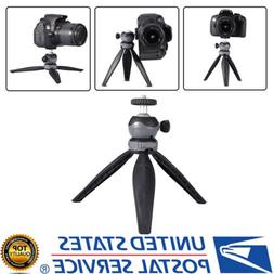 Mini Tabletop Tripod with Detachable 360° Rotation Ball Hea