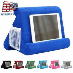 Multi-Angle Soft Pillow Stand Tablet Phone Desktop Holder fo