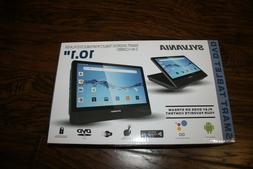 "NEW SYLVANIA 10.1"" SMART ANDROID TABLET DVD PLAYER 2 IN 1 CO"