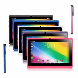 """7"""" 16GB Quad Core Camera WIFI Tablet Android For Kids Bundle"""