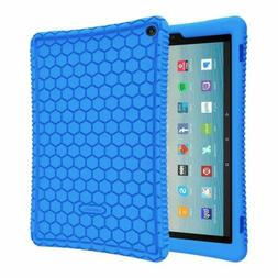 For New Amazon Fire HD 10 7th Gen 2017 Tablet Silicone Case