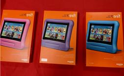 NEW Amazon Fire 7 Kids Edition Tablet 16GB  - Blue Pink Purp