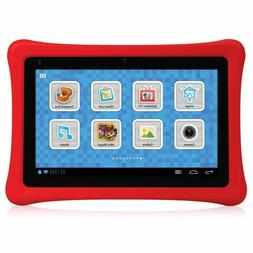 NEW NABI NBTY07SMKG 7 Kids Tablet- Black/Red Learning Tablet
