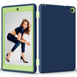 """New Shockproof Hybrid Case Cover For 8"""" Amazon Kindle Fire H"""