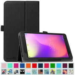 For New T-Mobile Alcatel 3T 8 inch 2018 Tablet Folio Case Co
