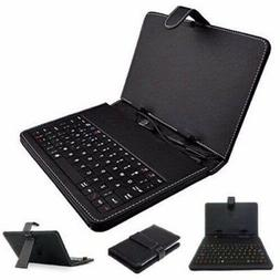 """***NEW*** Universal 7"""" Inch Tablet PC Keyboard Flip Stand Ca"""