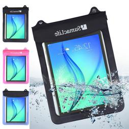 """New Waterproof Pouch Dry Bag Case For 9.7"""" 10.1"""" 10.5""""Samsun"""