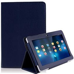 NSSTAR Folio Stand Faux Leather Case Cover Flip Protection G
