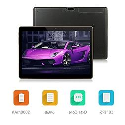 Android Tablet LLLCCORP 10 inch Octa Core 3G Unlocked Tablet