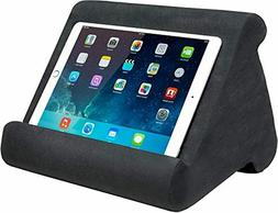 Ontel Pillow Pad Multi-Angle Soft Tablet Stand, Charcoal Gre