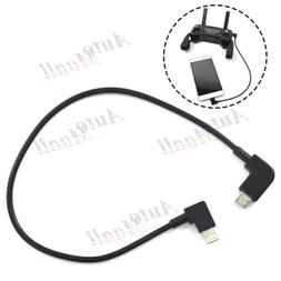 OTG Micro USB Cable for DJI MAVIC PRO AIR Spark RC to IOS iP
