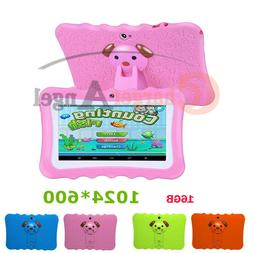 """Pink 7"""" Tablet PC 16GB Android Wifi Quad Core Educational Ap"""