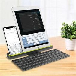 Portable Bluetooth Wireless Keyboard with Holder Stand for i