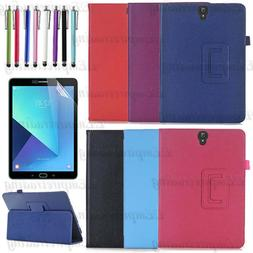 Premium Pu Leather Case Cover for Samsung Galaxy Tablet With