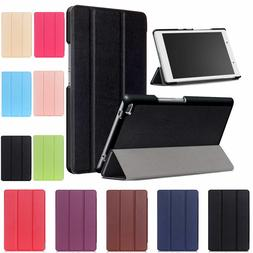 Protective Leather Cover Fold Case For Lenovo Tab 4 8 Tablet