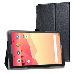"PU Leather Folio Stand Case For 10.1"" Vankyo MatrixPad S20/Y"