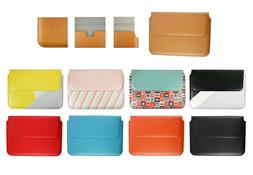 Pu Leather Sleeve Case Magnetic Pouch fits various laptops/
