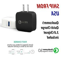 qc 3 0 wall charger power adapter