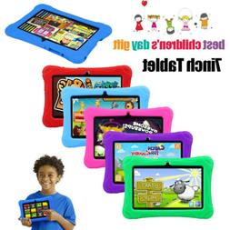 Quad Core 7 Inch Kids Tablet PC Android 6.0 Dual Camera WIFI