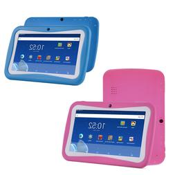 Quad Core 7 Inch Kids Tablet PC Android 7.0 Dual Camera HD W