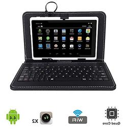 "Tagital 7"" Quad Core Android 4.4 KitKat Tablet PC, Dual Came"