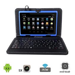 """Tagital 7"""" Quad Core Android 4.4 KitKat Tablet PC, Dual Came"""