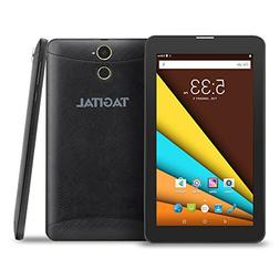 "Tagital 7"" Quad Core 3G Phablet, Android Phone Tablet, Andro"