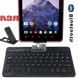 """For RCA 7"""" Voyager/ 8"""" Apollo Tablet Wireless Bluetooth Keyb"""
