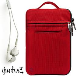 RED Durable Nylon Protective Carrying Cover Sleeve For Amazo