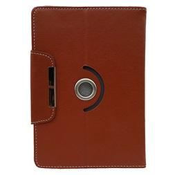 360 Degree Rotate PU Leather Alcatel A30 Tablet Cover Case