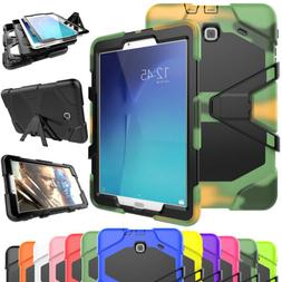 Rugged Screen Protector Hard Tablet  Case Cover For Samsung
